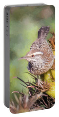 Cactus Wren Portable Battery Charger