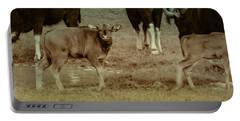 Calf Posing Portable Battery Charger