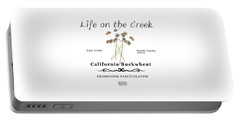California Buckwheat Portable Battery Charger