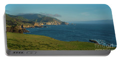 California Coast At Rocky Point Portable Battery Charger