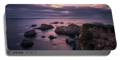 California Coast Evening Mood Portable Battery Charger