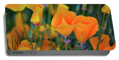 California Poppies Lake Elsinore Portable Battery Charger