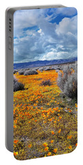 California Poppy Patch Portable Battery Charger