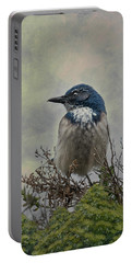 California Scrub Jay - Vertical Portable Battery Charger