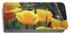 Californian Poppies In The Patagonia Portable Battery Charger
