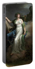 Calliope, Muse Of Epic Poetry, 1798 Portable Battery Charger