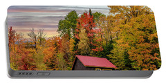 Canadian Autumn Portable Battery Charger