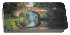 Canal Bridge Reflection Portable Battery Charger