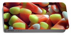 Portable Battery Charger featuring the photograph Candy Corn For Halloween by Bill Swartwout Fine Art Photography