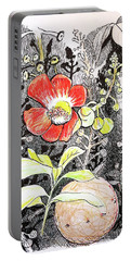 Cannonball Flower Botanical Portable Battery Charger