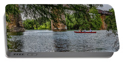 Canoeing Lady Bird Lake Portable Battery Charger