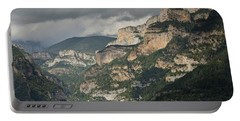 Portable Battery Charger featuring the photograph Canyon Anisclo by Stephen Taylor