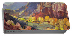 Canyon At Capitol Reef Portable Battery Charger
