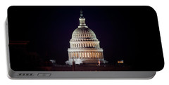 Portable Battery Charger featuring the photograph Capitol Building by Travis Rogers