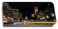 Portable Battery Charger featuring the photograph Capitol Landscape by Travis Rogers