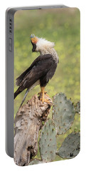 Caracara Head Throw Portable Battery Charger
