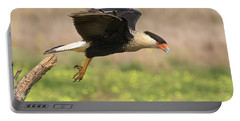 Caracara Taking Off Portable Battery Charger
