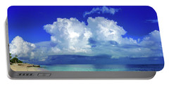 Caribbean Clouds Portable Battery Charger