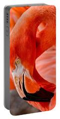 Caribbean Flamingo Portable Battery Charger