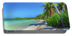 Caribbean Palm Beach Portable Battery Charger