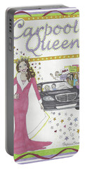 Carpool Queen Portable Battery Charger