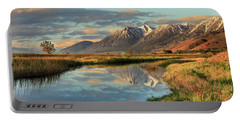 Carson Valley Sunrise Panorama Portable Battery Charger