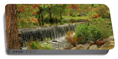 Portable Battery Charger featuring the photograph Cass Dam by Debbie Stahre