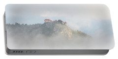 Portable Battery Charger featuring the photograph Castle In The Sky by IPics Photography