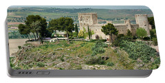 Castle In Toledo - Spain Portable Battery Charger
