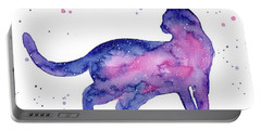 Cat In Space Portable Battery Charger