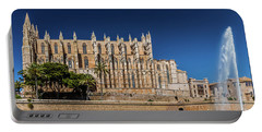 Catedral Basilica De Santa Maria De Mallorca, Spain Portable Battery Charger