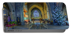 Cathedral At Christmas Portable Battery Charger