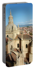 Cathedral Of Segovia - Spain Portable Battery Charger