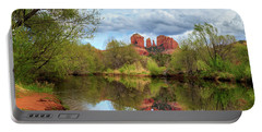 Cathedral Rock Reflection Portable Battery Charger