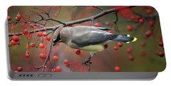 Cedar Waxwing 102206 Portable Battery Charger