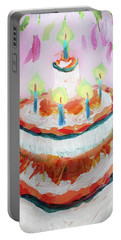 Celebration Cake Portable Battery Charger