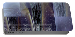 Celestial Vase Abstract Portable Battery Charger