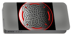 Celtic Shield Knot 4 Portable Battery Charger