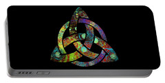 Celtic Triquetra Or Trinity Knot Symbol 3 Portable Battery Charger