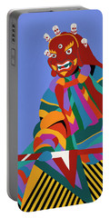 Cham Dancer Wrathful Deity Portable Battery Charger