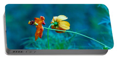 Portable Battery Charger featuring the photograph Chance Meeting by Rosanne Licciardi