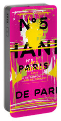 Chanel No 5 Pop Art - #3 Portable Battery Charger