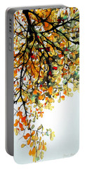 Portable Battery Charger featuring the digital art Change Of Season by Pennie McCracken