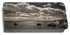 Portable Battery Charger featuring the photograph Channel View by Edmund Nagele