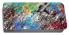 Chaos Abstraction Bright Portable Battery Charger