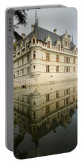 Portable Battery Charger featuring the photograph Chateau Azay-le-rideau, by Stephen Taylor