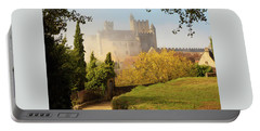 Chateau Beynac In The Mist Portable Battery Charger