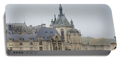 Portable Battery Charger featuring the photograph Chateau De Chantilly, Paris France by Perry Rodriguez
