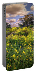 Chatsworth Wildflower Bloom Portable Battery Charger