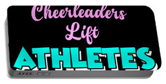 Cheerleading Athlete Apparel Portable Battery Charger